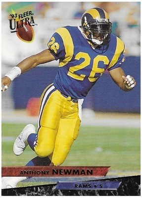 Newman, Anthony / Los Angeles Rams | Ultra #243 | Football Trading Card | 1993