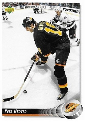 Nedved, Petr / Vancouver Canucks   Upper Deck #263   Hockey Trading Card   1992-93