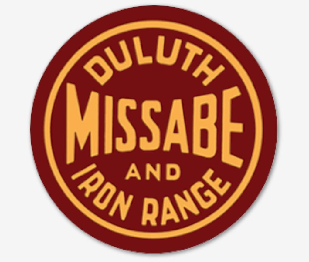 """Duluth Missabe & Iron Range 4"""" Sticker"""