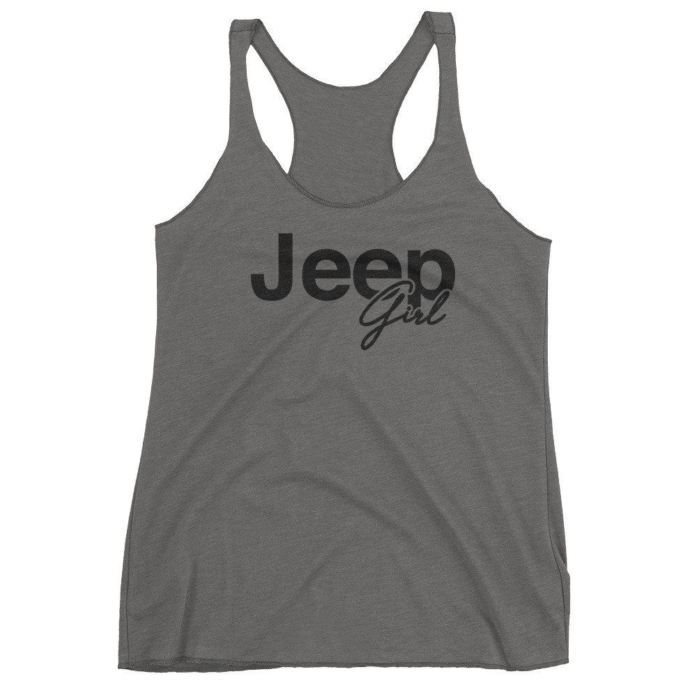 Jeep Girl Racerback Tank