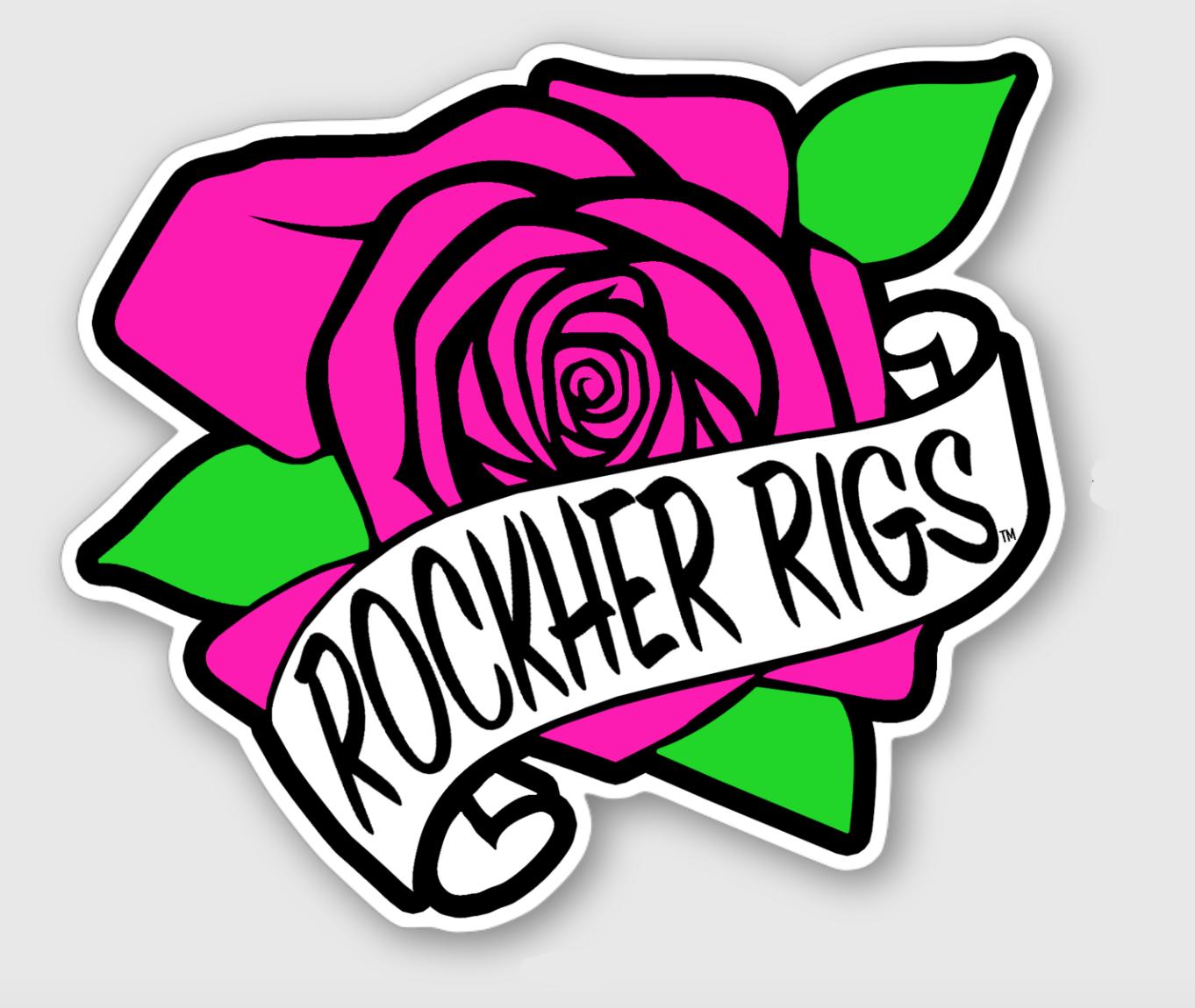 Rockher Rigs Sticker