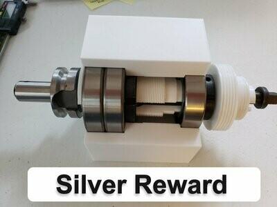 BT-30 Chinese X2 Mini Mill Headstock Silver Reward - Pre-Orders