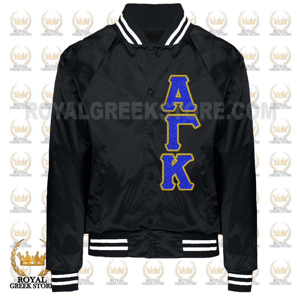 6caa857c Custom Satin Jacket