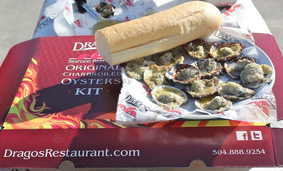 The Original Charbroiled Oyster Kit