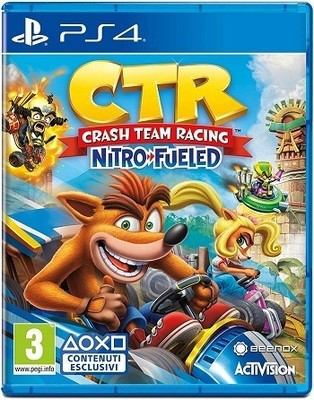 7b21d9c2950a CRASH TEAM RACING NITRO-FUELED - PLAYSTATION 4 - PS4 - NUOVO - ACQUISTA  ONLINE