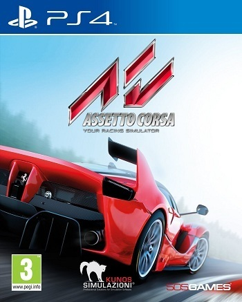 0cb564f24c47 ASSETTO CORSA - PLAYSTATION 4 - PS4 - NUOVO - ACQUISTA ONLINE E RICEVILO A  CASA (ANCHE CON PAGAMENTO ALLA ...