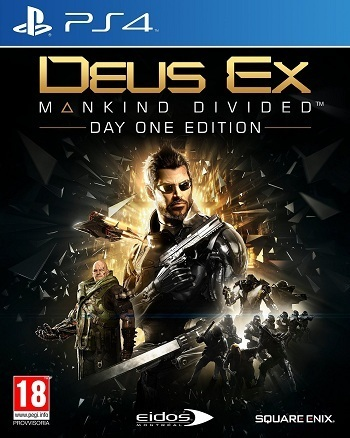 b559e49761 DEUS EX MANKIND DIVIDED DAYONE EDITION - PLAYSTATION 4 - PS4 - NUOVO - ACQUISTA  ONLINE E RICEVILO A CASA ...
