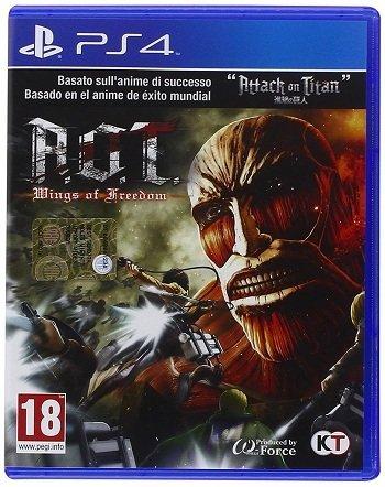 fb01d34c11 A.O.T. ATTACK ON TITAN - PS4 - PLAYSTATION 4 - USATO - ACQUISTA ONLINE E  RICEVILO A CASA (ANCHE CON ...