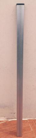 Postes valla hercules - fortex galvanizados 1,50 alto