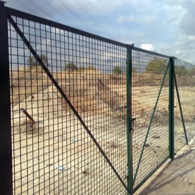 Puerta de 3m por 2 m alto galvanizado o verde !!valla hercules