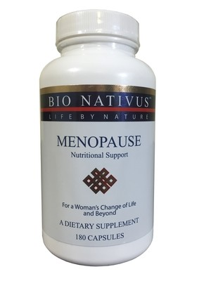 Menopause Nutritional Support