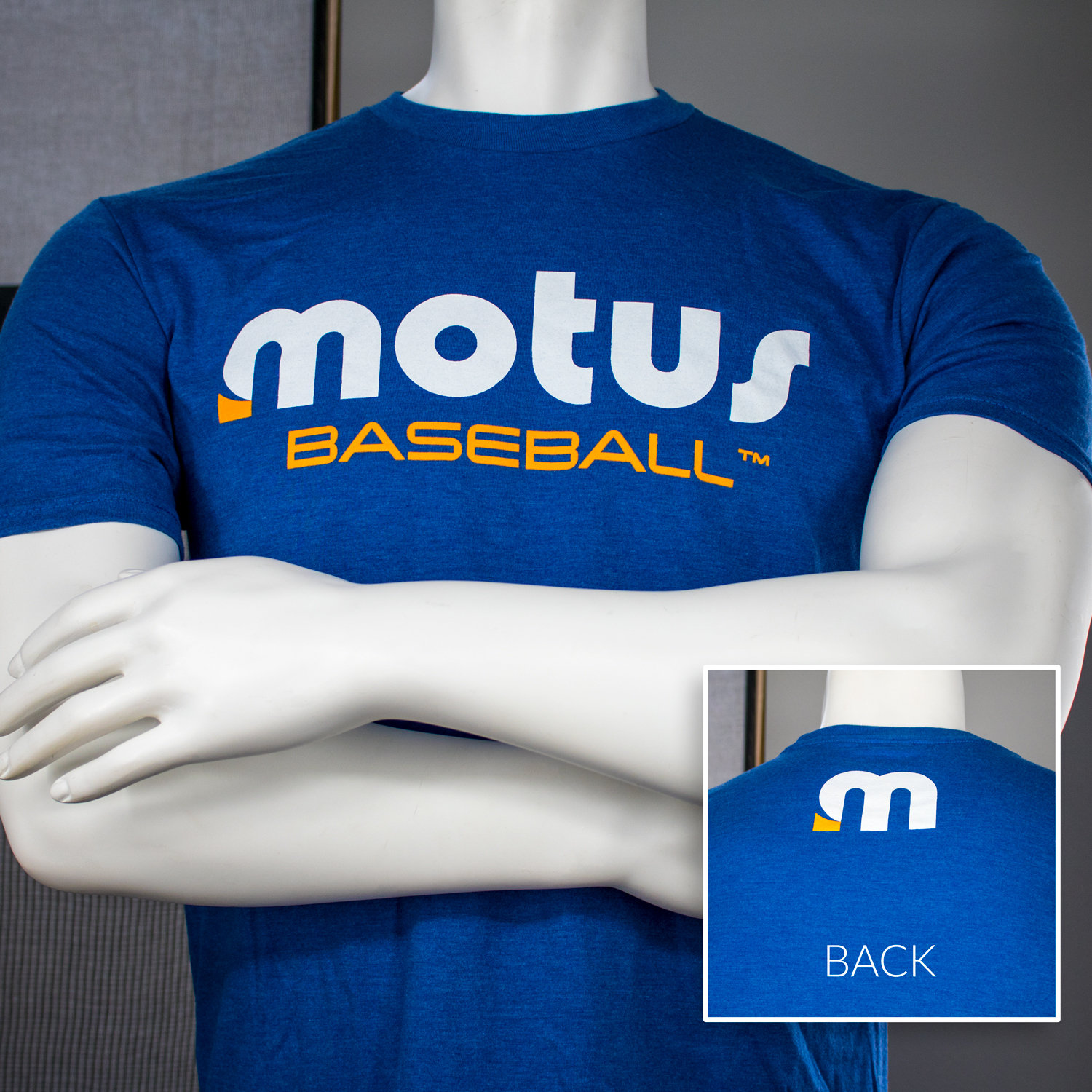 Royal Frost motusBASEBALL™ Tee