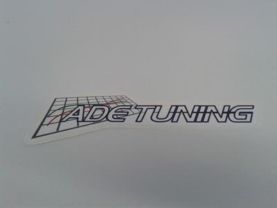 ADE Tuning Sticker White