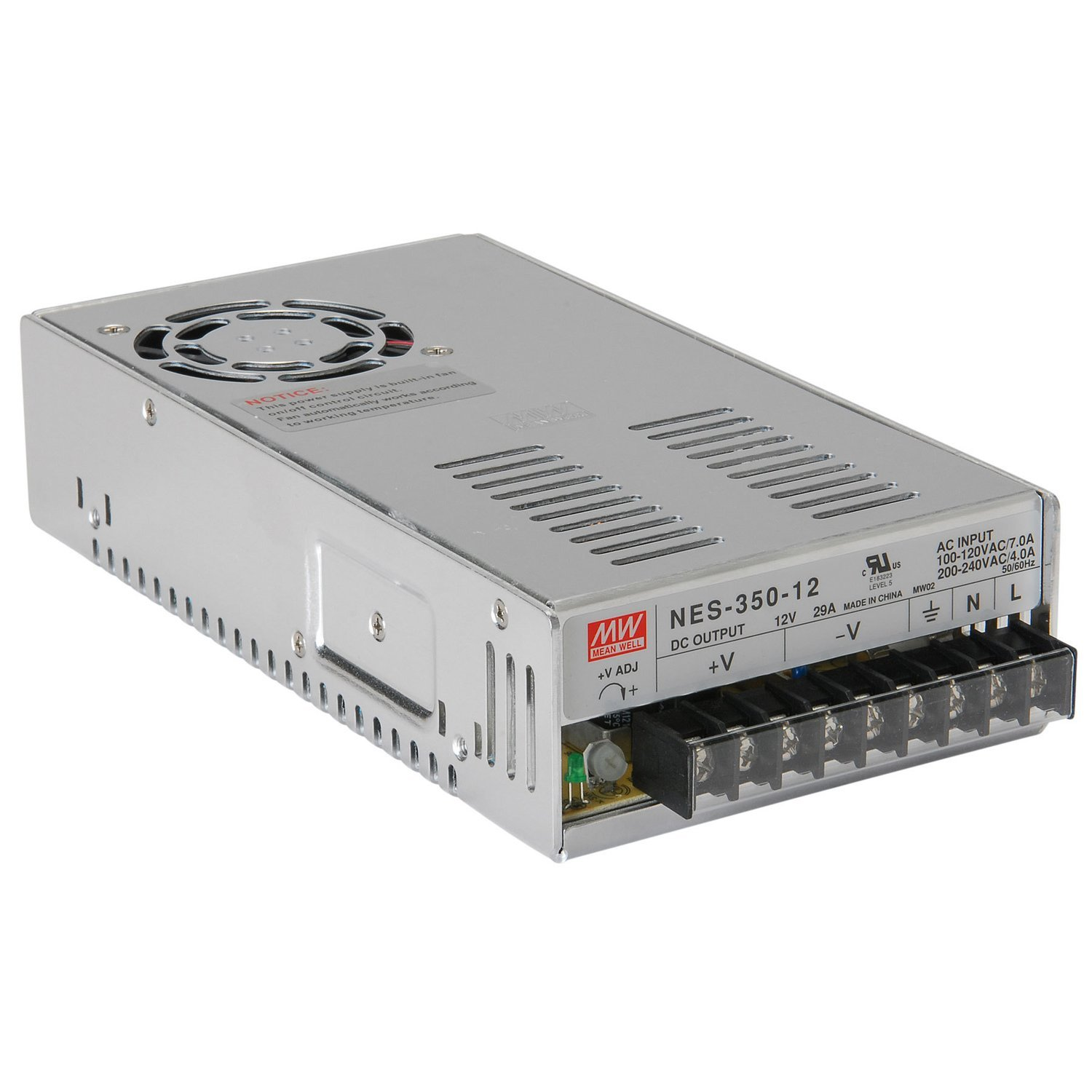 MeanWell 12v Power Supply