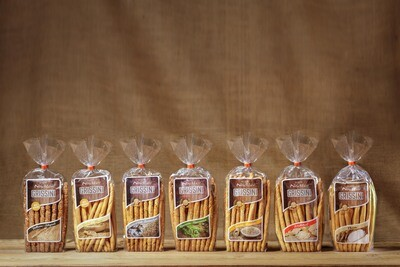 Grissini gemischt/misti (12 Pakete/pachetti à 400g)