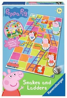 Peppa Pig Snakes & Ladders Game