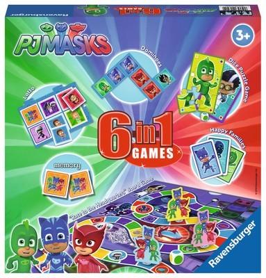 PJ Masks 6 In 1 Games Box