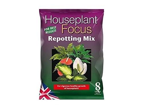 Growth Technology Houseplant Focus Repotting Mix 8L