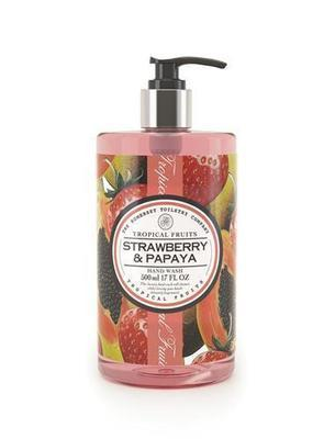 The Somerset Toiletry Company Tropical Fruits Strawberry & Papaya Hand Wash