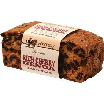 Luxurious Rich Cherry Genoa Cake 400g