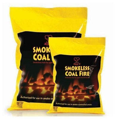 Smokeless Coal Fire