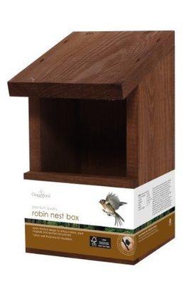 Chapelwood Wild Bird Classic Robin Nest Box