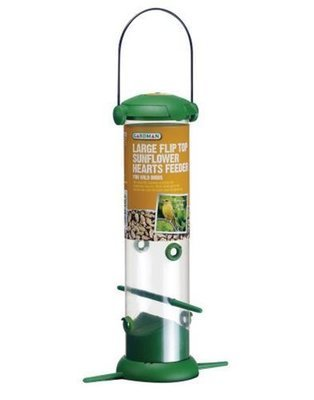 Large Flip Top Sunflower Hearts Feeder A04247
