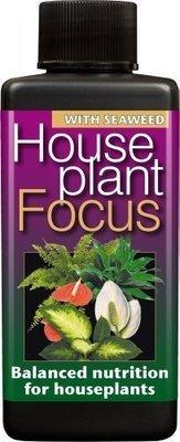 Houseplant Focus Balanced Liquid Concentrated Fertiliser 100ml