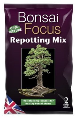 Bonsai Focus Repotting Mix 2 Litre