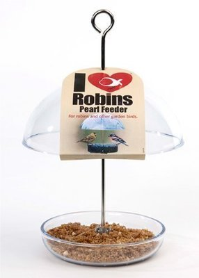 I Love Robins Pearl Feeder