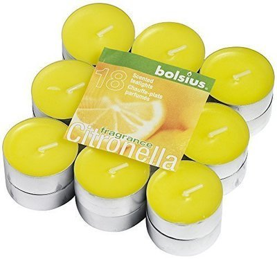 Pack of 18 Citronella Scented Tealights