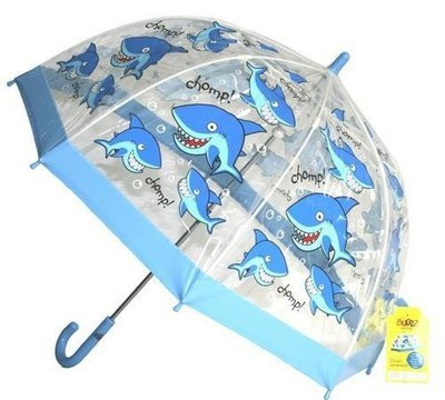 Shark kids umbrella from the Bugzz Kids Stuff collection