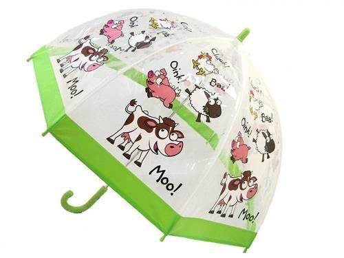 Farmyard kids umbrella from the Bugzz Kids Stuff collection