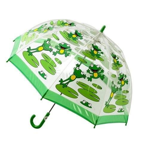 Frog kids umbrella from the Bugzz Kids Stuff collection