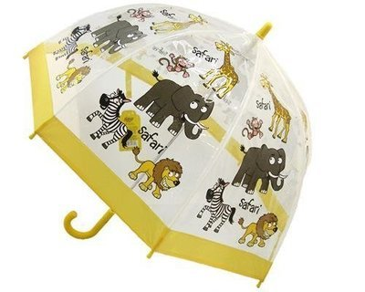 Safari kids umbrella from the Bugzz Kids Stuff collection