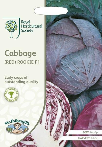 RHS Cabbage (Red) Rookie F1