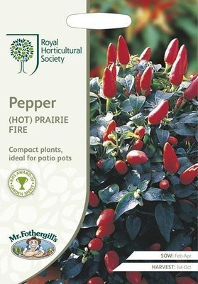 RHS Pepper (Hot) Prairie Fire