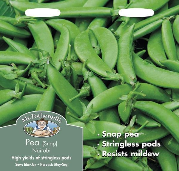 Pea (Snap) Nairobi Seeds