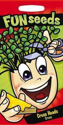 Fun Seeds Cress Heads