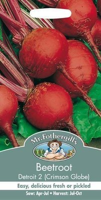 Beetroot Detroit 2 - Crimson Globe Seeds