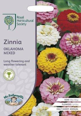 RHS Zinnia Oklahoma Mix