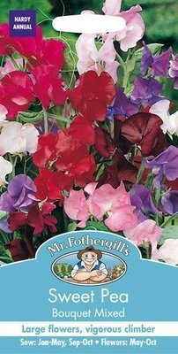 Sweet Pea Bouquet Mixed Seeds