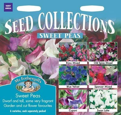 Sweet Pea Seed Collection