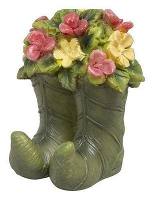 Flowered Leaf Boots
