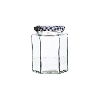 KILNER HEXAGONAL TWIST TOP JAR 280ML