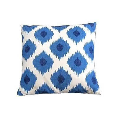 Blue Large Lattice Square Scatter Cushion