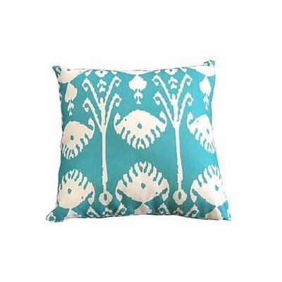 Green Shell Square Scatter Cushion