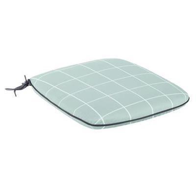 Caredo Chair Seat Pad - Aqua Check