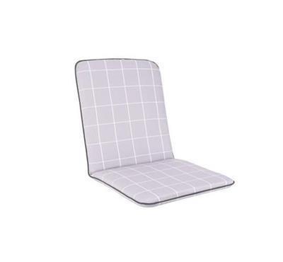 Siena Chair Cushion - Lilac Check