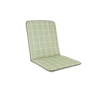Siena Chair Cushion - Sage Check